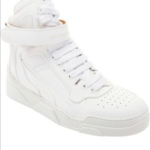 Men's Givenchy Tyson High Top All White